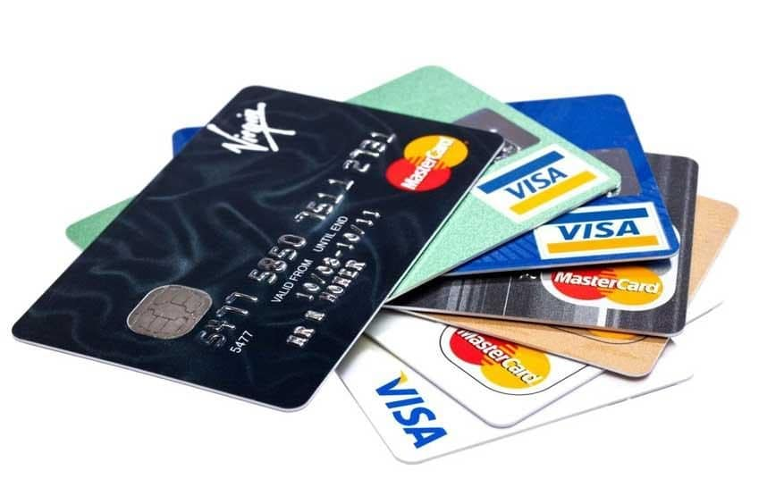 Photo of credit cards, one of the potential means of age verification mentioned by Digital Minister Matt Hancock