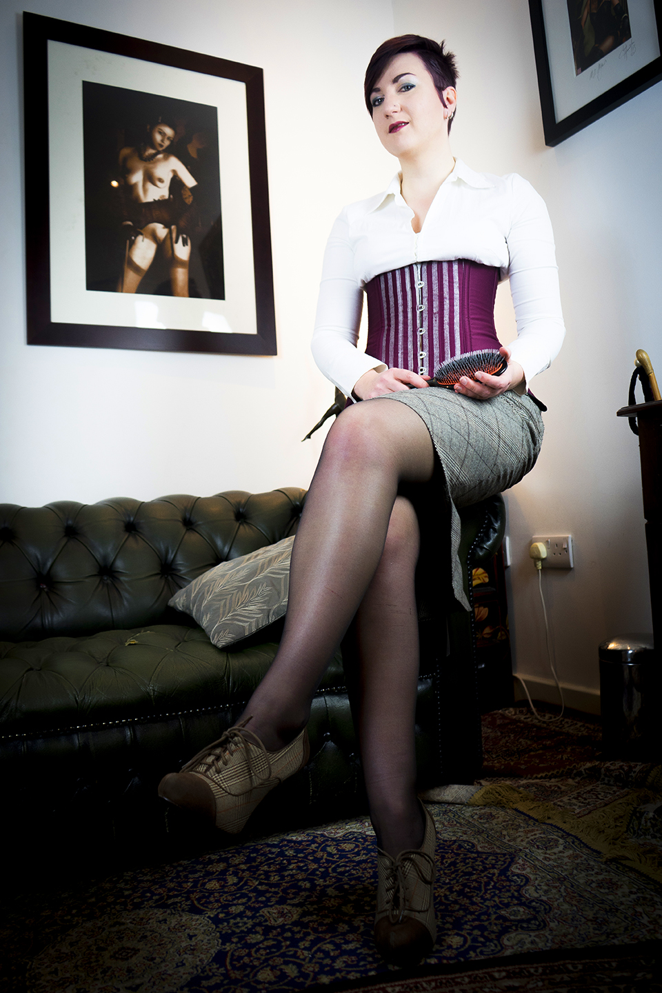 Spanking and corporal punishment sessions with Pandora Blake