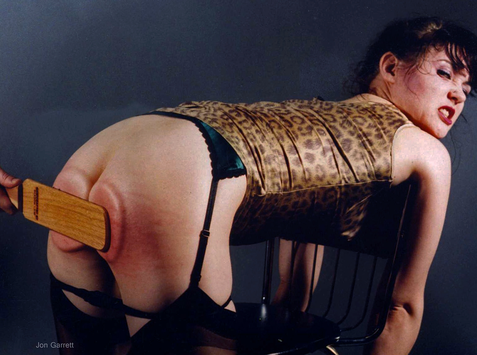 Rare vintage spanking photos by Jon Garrett Photographer
