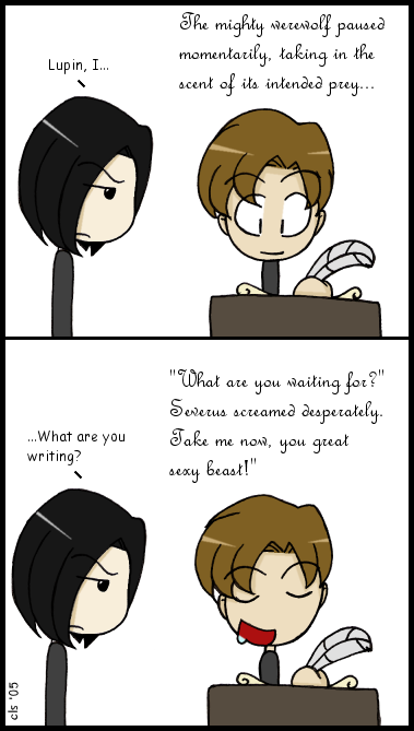 Remus writes fanfiction by corilefay