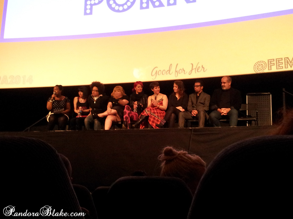 Directors at the Public Provocative Porn screening at the Feminist Porn Awards 2014