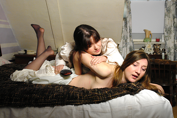 Pandora Blake and Adele Haze in Lost Causes for Roue Productions