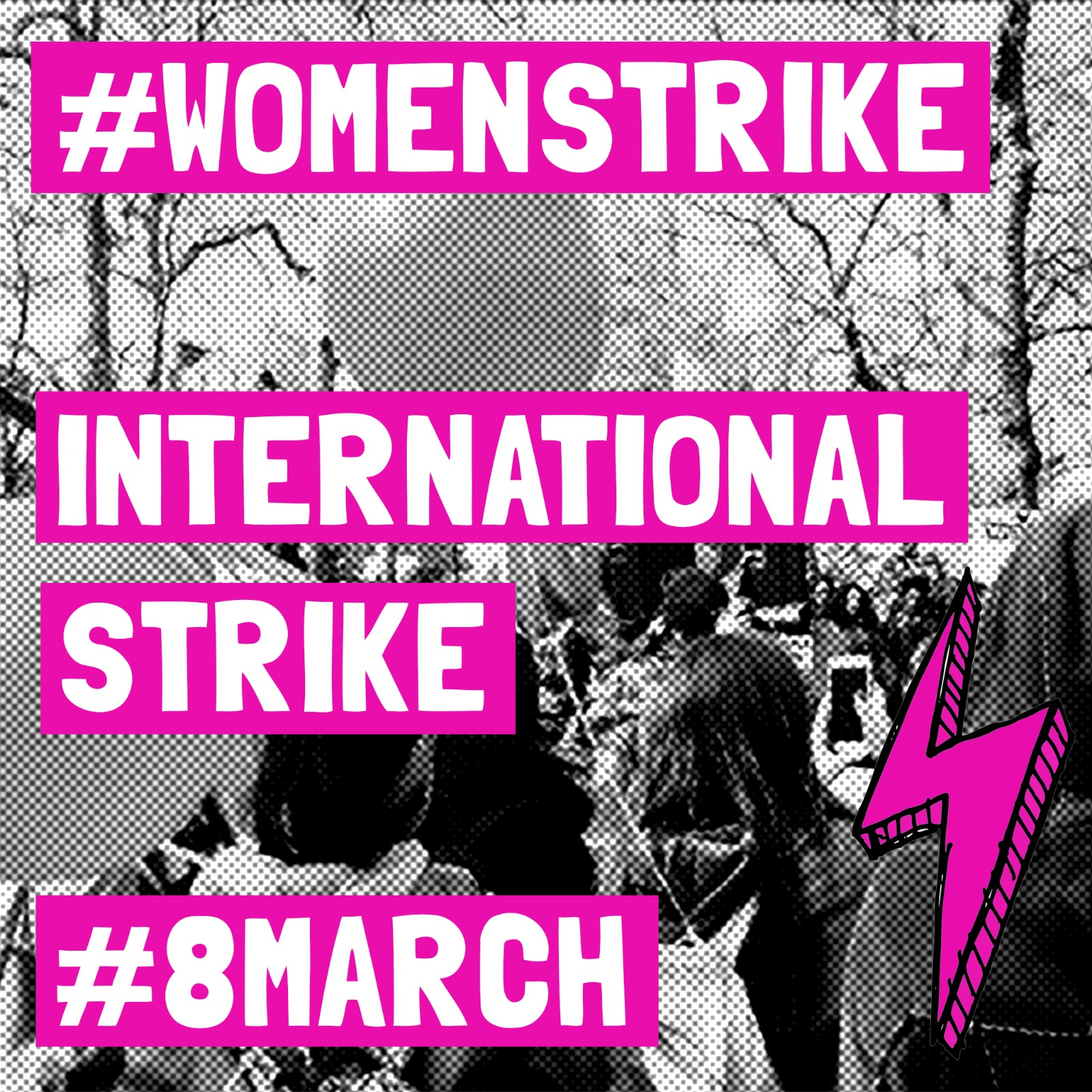 Womens Strike - international strike 8 March